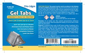 gel tab label